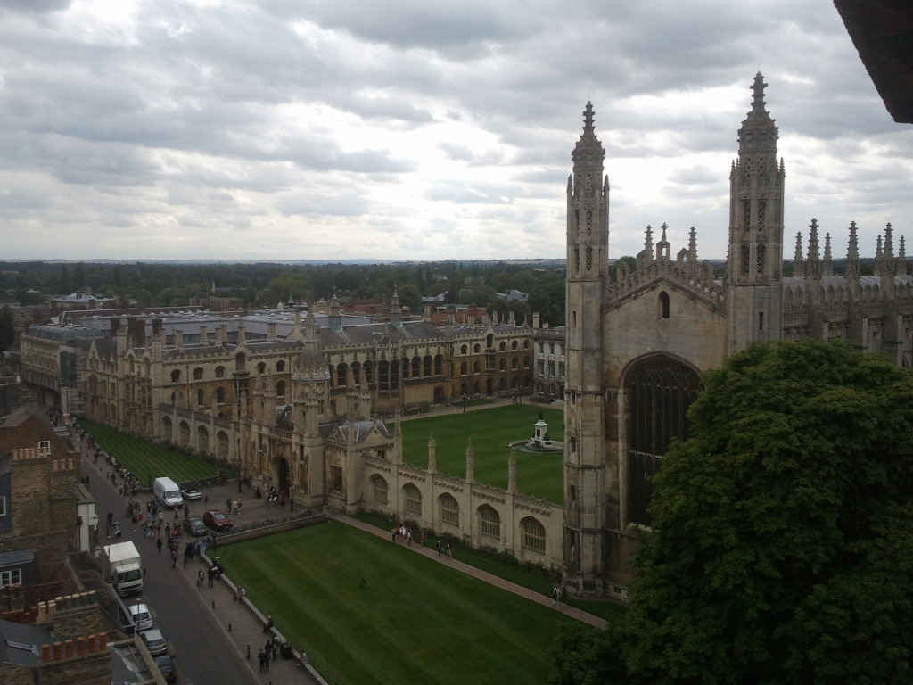 King's College from St Mary's Church